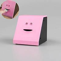 Копилка-лицо Face Piggy Bank Розовая