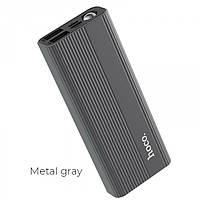Зовнішній акумулятор Hoco J54 10000 Mah батарея зарядка Темно-сірий