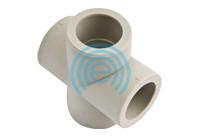 Крестовина ППР 20 для полипропиленовых труб Evci Plastik