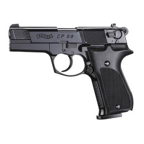 Пневматический пистолет Walther CP88 Black, фото 2