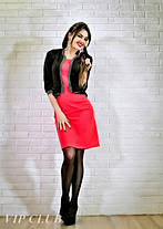 Платье с имитацией пиджака больших размеров, фото 2