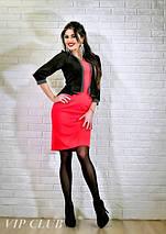 Платье женское с имитацией пиджака, фото 3