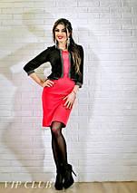 Платье женское с имитацией пиджака, фото 2
