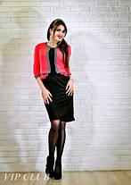 Платье с имитацией пиджака больших размеров, фото 3