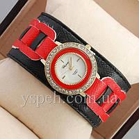 Женские Часы Chopard Red/Gold