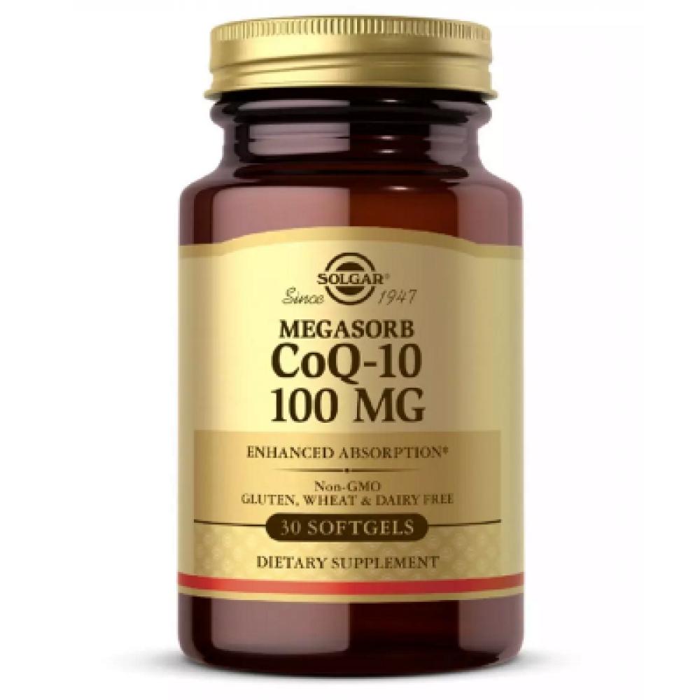 CO Q-10 100 mg - 30 softgels