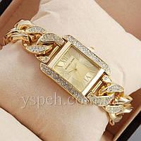 Женские Часы Michael Kors diamond Gold/Gold