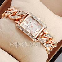 Женские Часы Michael Kors diamond Pink Gold/White