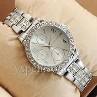 Женские Часы Michael Kors diamond Silver