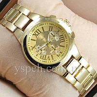 Женские Часы Michael Kors Chronograph Gold/Gold, фото 1