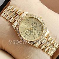 Женские Часы Michael Kors Diamond Gold
