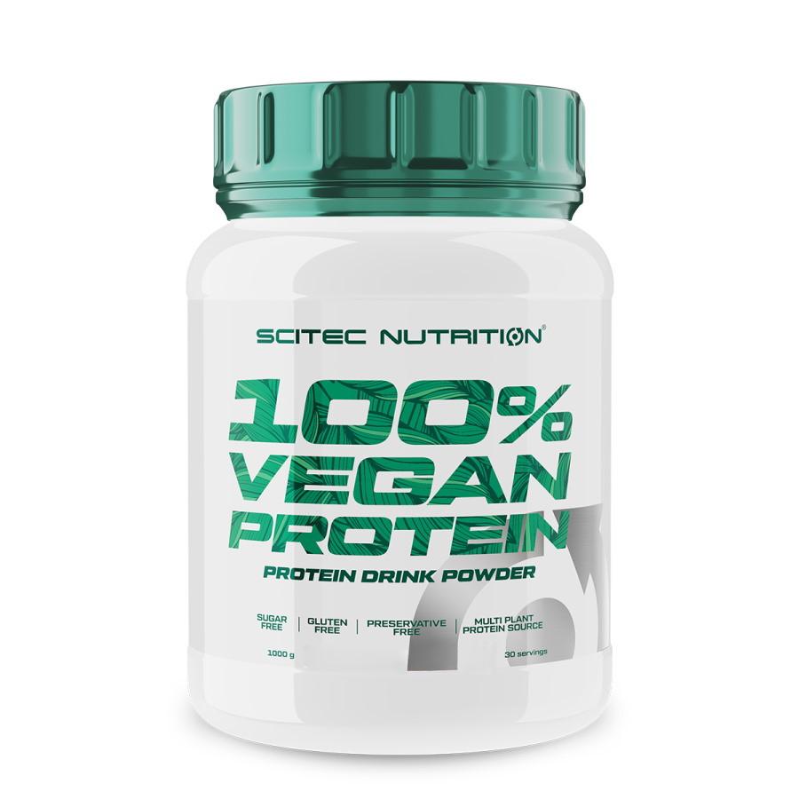 Протеїн Scitec 100% Vegan Protein, 1 кг Шоколад