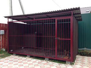 Вольєри для собак і металеві клітки для собак