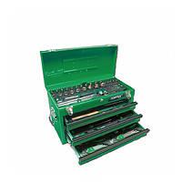 Ящик з інструментом 3 секції 99 од. TOPTUL GCAZ0038, фото 1