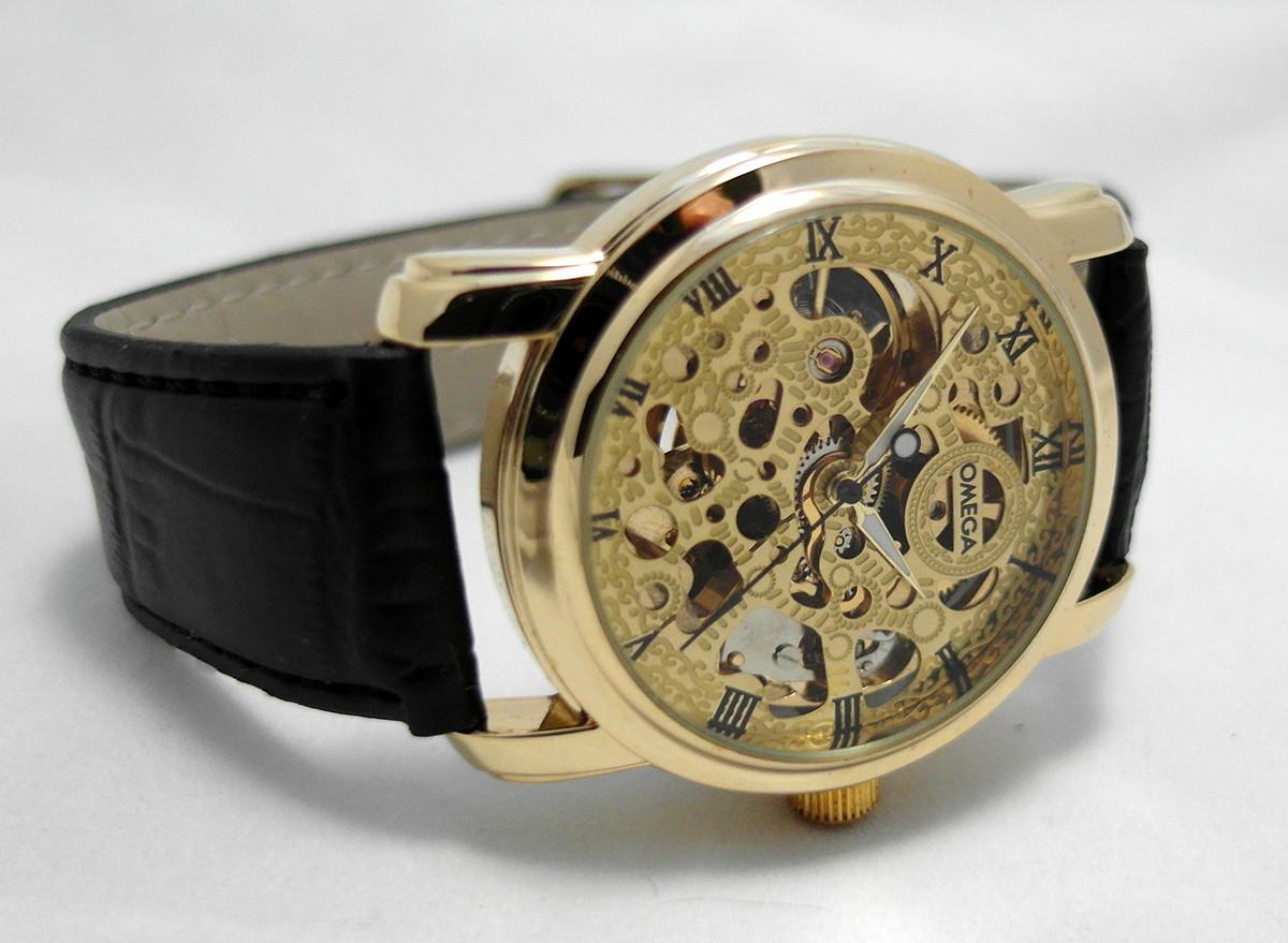 fc7d99ebd89027 Мужские часы Omega skeleton, механика с автозаводом, скелетон - 4asovoy в  Киеве
