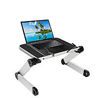 Подставка для ноутбука Table Buddy раскладной столик трансформер под ноутбук в кровать | підставка на (GIPS)