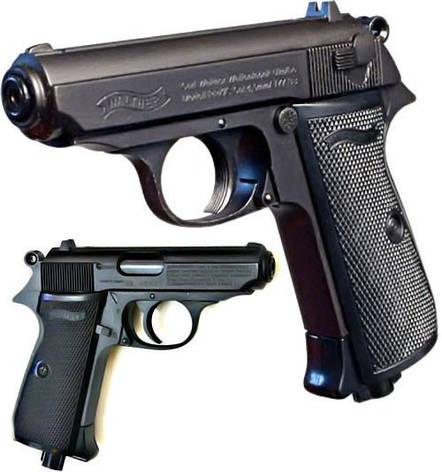 Пневматический пистолет  Walther PPK/S, фото 2