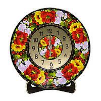 Годинники настінні/настільні розписані вручну, фото 1
