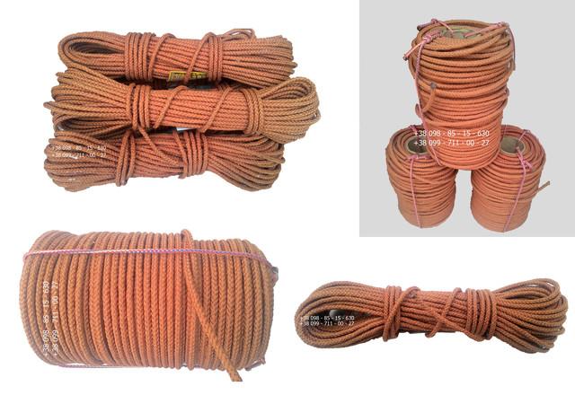 Шнур плетеный кордовый
