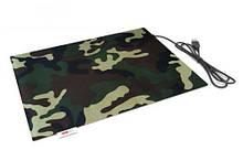 Коврик Lappo с подогревом USB, 32х26 см. Цвет камуфляж