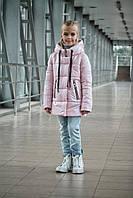 Модна демісезонна куртка на дівчинку ріст 128-152