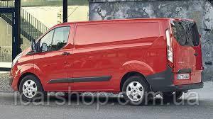 Скло Ford Transit Custom 2013- Тил Лівий без Електрообігріву