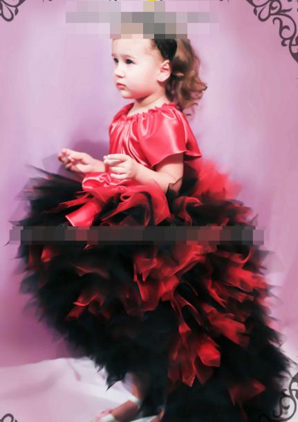 Шикарные детские платья.