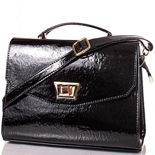 Компактная женская сумочка из качественной искусственной кожи Артикул: ETMS35236-2-lak