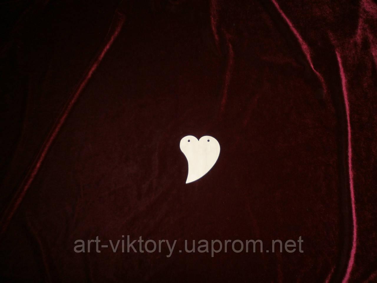 Сердце капелька