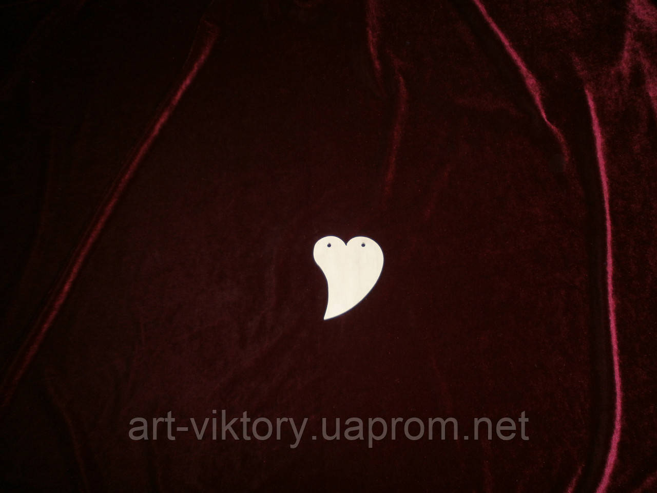 Серце крапелька