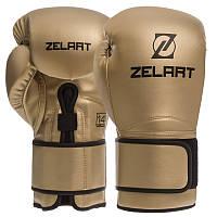 Боксерские перчатки Zelart BO-1391 12 унций, фото 1