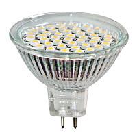 Светодиодная лампа LB-24 MR16 G5.3 230V 3W 44LEDS 240Lm