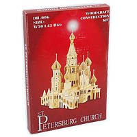 """""""Sea-Land"""" Петербуржская Церковь с куполами DH-006 13 пластин"""