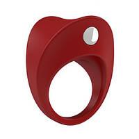 Вибрирующее кольцо OVO B11 Vibrating Ring Red