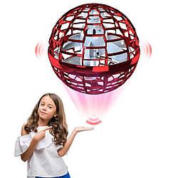 Літаючий світна куля Flynova Pro (сенсорний) 3 режими Червоний