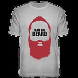 "Футболка ""Fear The Beard"", фото 2"
