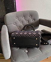 "Сумка Lady Dior Grey ""Сірі"", фото 2"