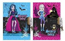 """Блокнот с замком """"Scary Fairy"""" А6 60 листов Wilhelm Buro"""