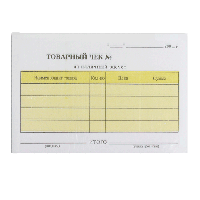 Товарний чек ПЗ А6 с/к 2-х сл.167320