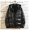 Чоловіча зимова непромокаємий куртка пуховик , чорний. РОЗМІР 44-52