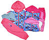 Трикотажный костюм-тройка для девочек, Crossfire, размеры 6,18.24,30.36 .мес., арт. CF 1085