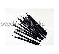 Свечи черные восковые 100% premium quality ⭐⭐⭐⭐⭐ />0.6 h/ 05 см Ø 10 см /собственное производство✅