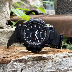 Чоловічий наручний годинник Casio G-Shock GPW-1000 All Black