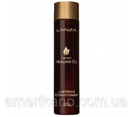 Кондиционер для сияния волос L'Anza Keratin Healing Oil Lustrous Conditioner  250 мл. США.
