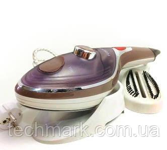 Відпарювач ручний для одягу Rainberg RB-6314 2000 Вт, парова праска, щітка-праска ТМ