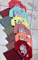 Дитяче трикотажне плаття для дівчинки Кішечка розмір 2-5 років, колір уточнюйте при замовленні