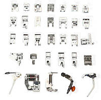 Набор из 32 лапок для швейных машин Singer Baby Lock Brother Janome
