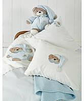 Karaca Home Набор в ванную Bear голубой для малышей