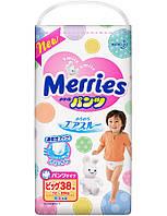 Японские трусики Merries Big (12-22кг) 38шт