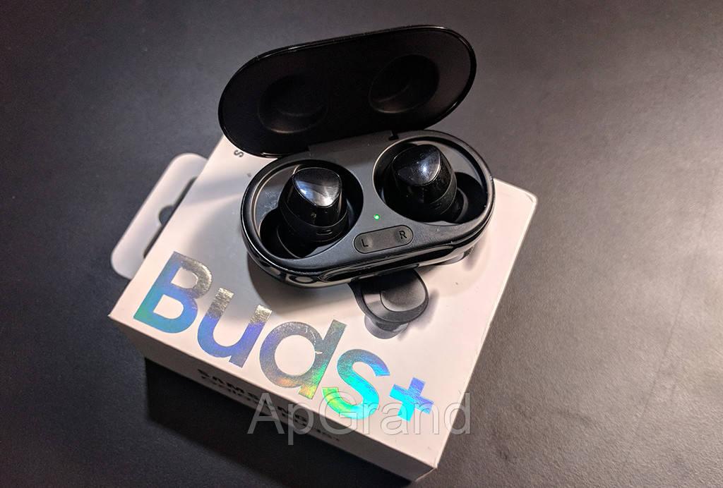 Наушники Samsung Galaxy Buds Plus вакуумные беспроводные с микрофоном (Lux copy)